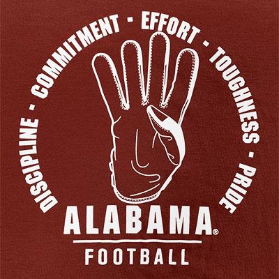 ALABAMA FOOTBALL COMMITMENT DRI-BLEND RIVARLY T-SHIRT