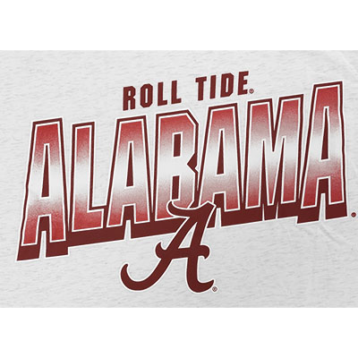 ALABAMA ROLL TIDE DRI-FIT COTTON LOCAL SHORT SLEEVE T-SHIRT