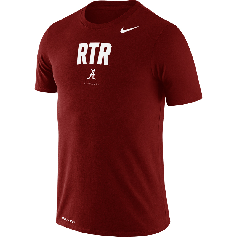 Alabama Men's Nike Dri-Fit Cotton Rtr Phrase T-Shirt (SKU 13264307158)