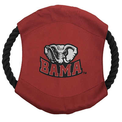 Alabama Team Frisbee Dog Toy