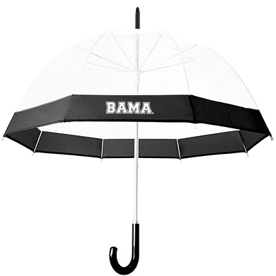 Alabama Bubble Dome Clear Umbrella