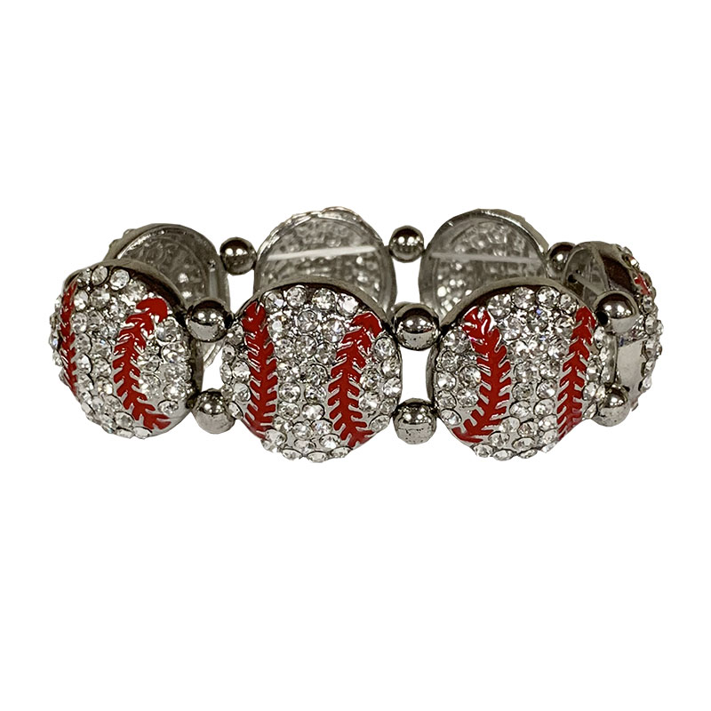 Dazzled Baseball Stretch Bracelet (SKU 13267612259)