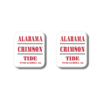 Alabama Club Square Magnet Pack