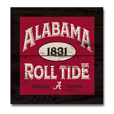 Alabama Five And Dime Wood Plank Magnet