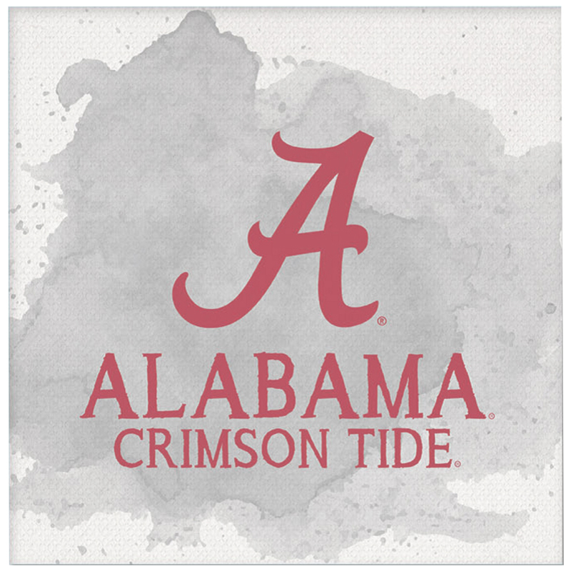 Alabama Crimson Tide Color Spill Mini Canvas Art (SKU 13268138106)