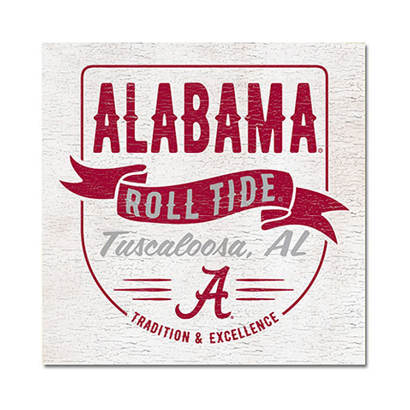 Alabama Roll Tide Pocket Table Top Square (SKU 13268428106)