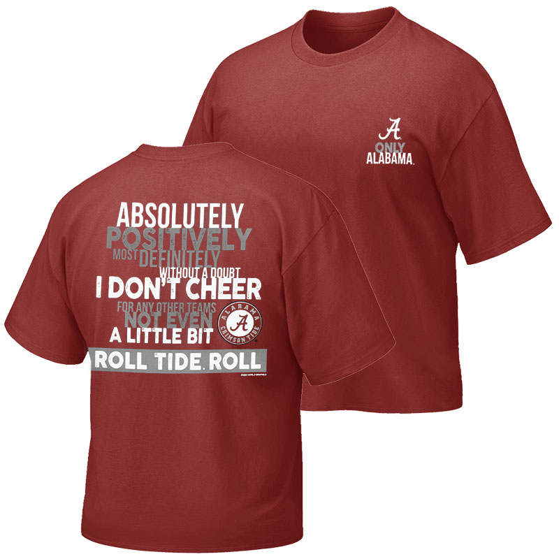 Alabama Absolutely T-Shirt (SKU 13268589102)