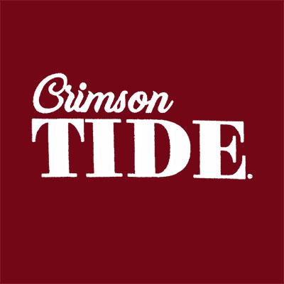 ALABAMA CRIMSON & WHITE SHIELD T-SHIRT