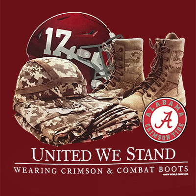 ALABAMA 2019 UNITED WE STAND T-SHIRT