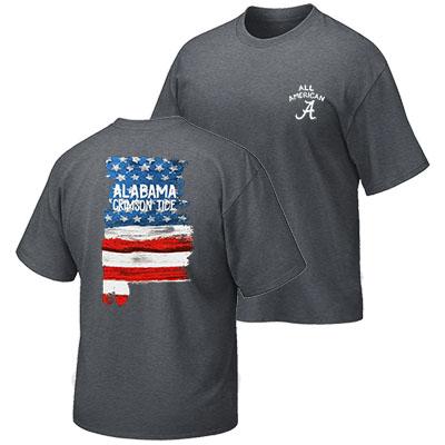5e0b8a2b1350 Alabama Patriotic T-Shirt