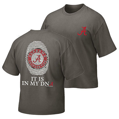 Alabama It's In My Dna Fingerprint Youth T-Shirt