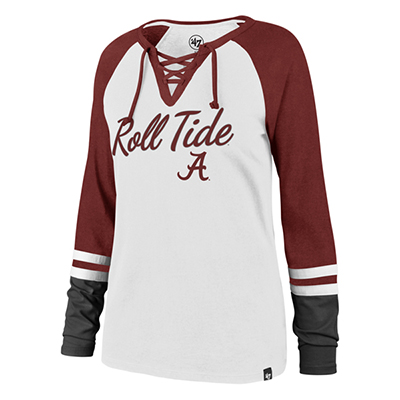Roll Tide Script A Fast Break Long Sleeve T-Shirt