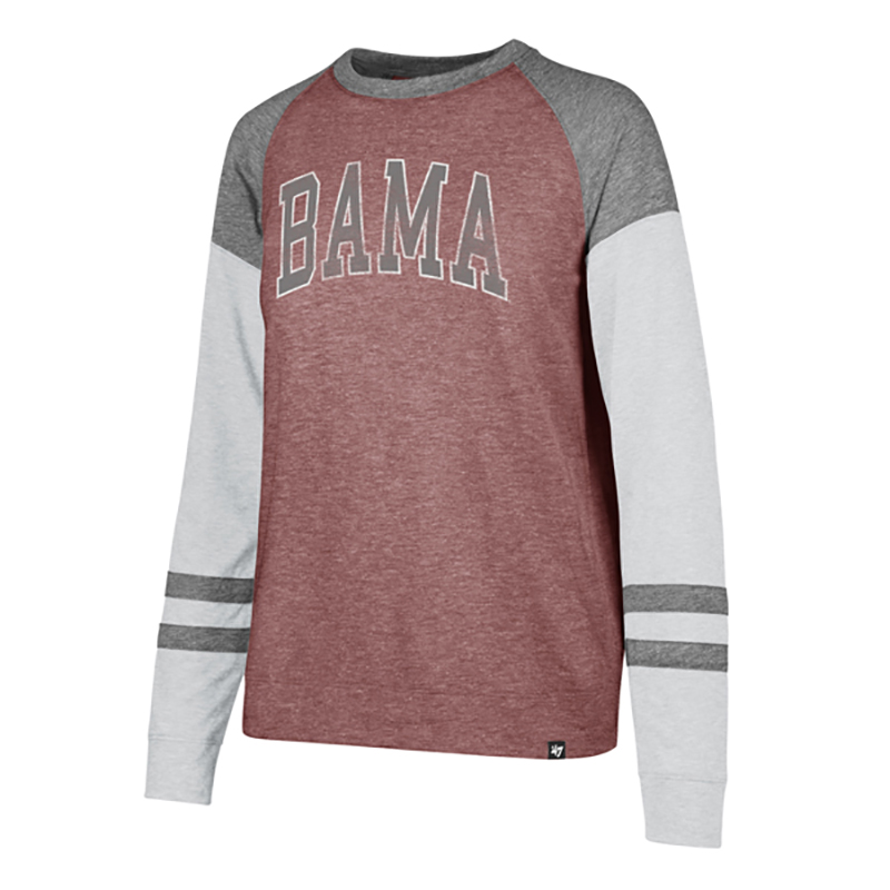 Bama Match Triblend Long Sleeve T-Shirt (SKU 13270353208)