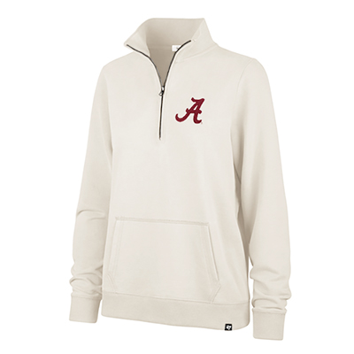 47 Brand Alabama French Terry Script A 1/4 Zip