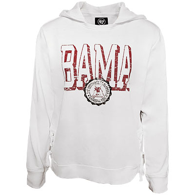 Bama Sideline Lace Up Pullover