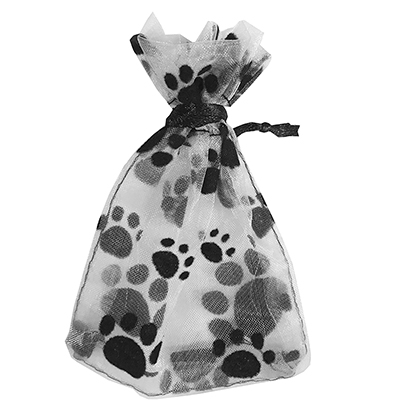 ALABAMA PET TUX BOW BARRETTE WITH GIFT BAG