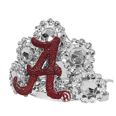 Alabama Pet Tiara With Gift Bag And Clip