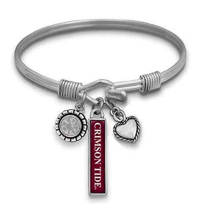Alabama Bar Charm Bracelet