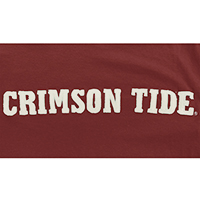 47 BRAND FIELDHOUSE T-SHIRT CRIMSON TIDE VAULT LOGO