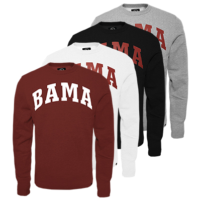 47 Brand Fleece Crew Bama