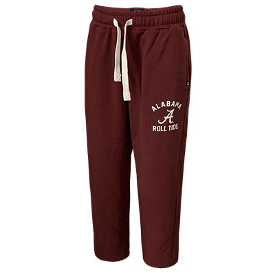 47 Brand Rollout Fleece Pant Alabama Roll Tide Script A