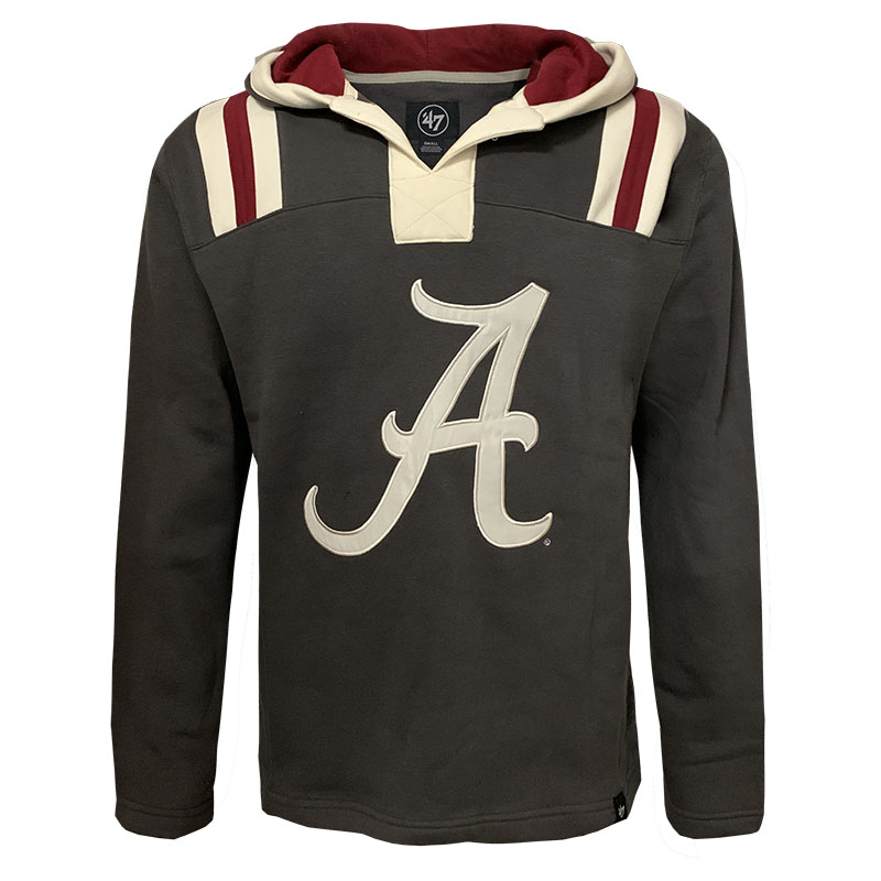 47 Brand Alabama Hail Mary Pullover Hoodie