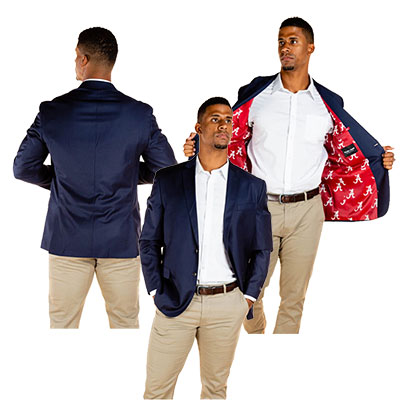 Alabama Script A Lined Madison Blazer