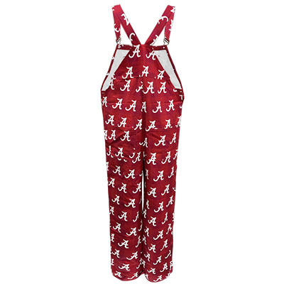 ALABAMA GAMEDAY OVERALLS WITH SCRIPT A