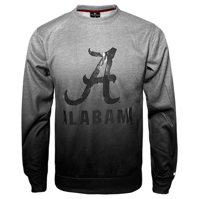 Alabama Sitwell Sublimated Crew Neck Fleece With Script A