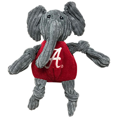 University Of Alabama Big Al Mascot Dog Knottie