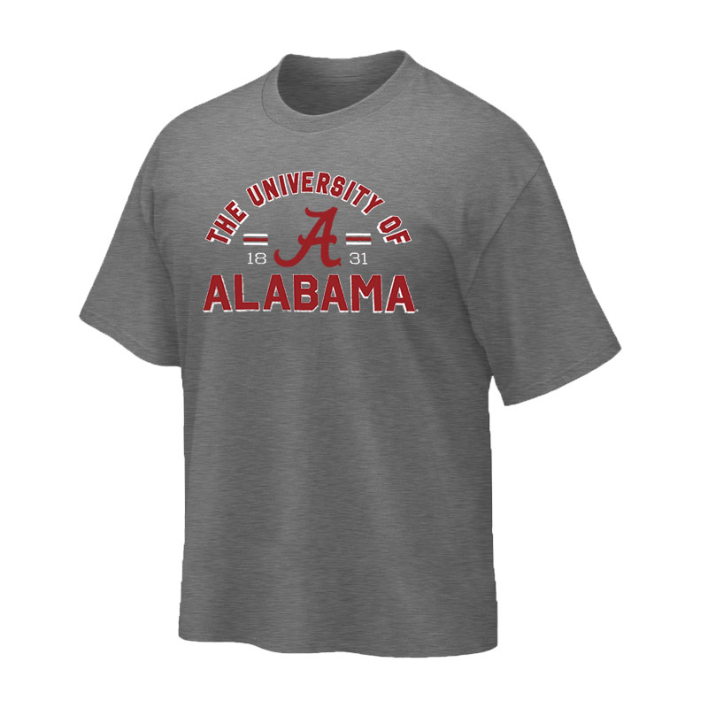 The University Of Alabama Tri-Blend Crew T-Shirt