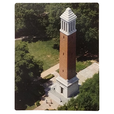 Alabama Silk Touch Denny Chimes Campus Throw Blanket