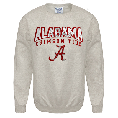 Alabama Crimson Tide Champion Eco Powerblend Youth Crew Sweatshirt