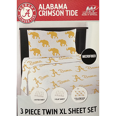 Alabama Midas Sheet Set