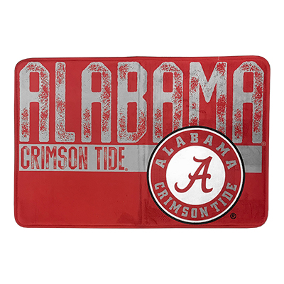 Alabama Vintage Faded Memory Foam Bath Mat