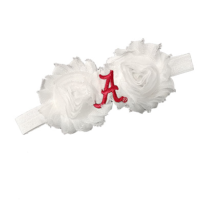 Alabama Shabby Flower Headband