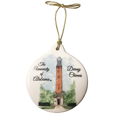 The University Of Alabama Denny Chimes Ornament