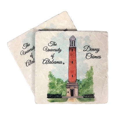 Alabama Denny Chimes Picture Coasters