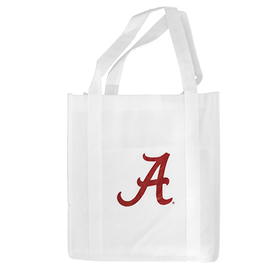 Alabama Hercules Non-Woven Grocery Tote With Script A