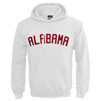 ALABAMA 3D TONAL PUFF EMBROIDERED HOODIE