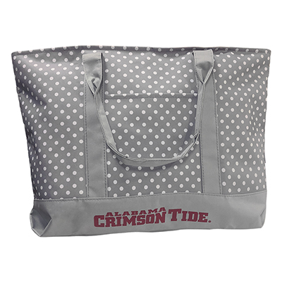 Alabama Crimson Tide Dot Tote
