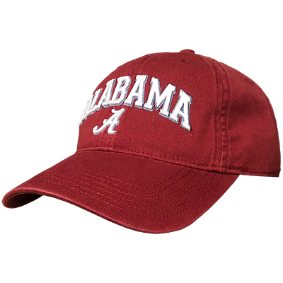 Alabama Over Script A Relaxed Twill Cap