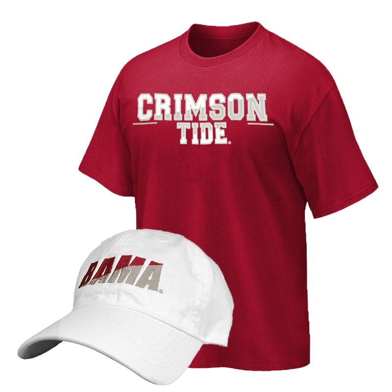 Cap And T-Shirt Combo Shadow Bama (SKU 13287399102)