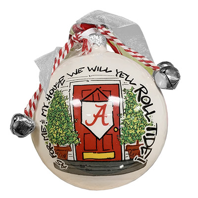 Alabama We Yell Roll Tide  Christmas Ornament In Box
