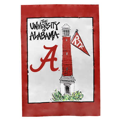 Alabama Denny Chimes House Flag