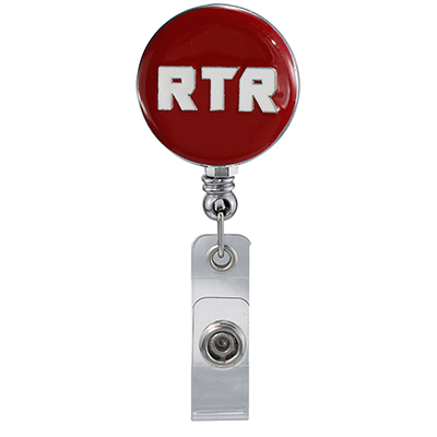 Red Rtr Badge Reel