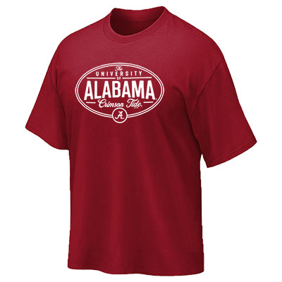 Alabama Vintage Ua Oval Short Sleeve T-Shirt
