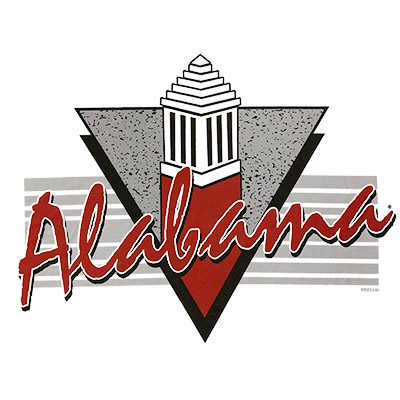 ALABAMA CAMPUS TRIANGLE T-SHIRT