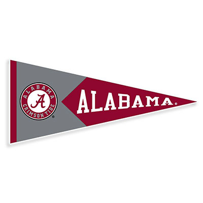 Alabama Pennant Decal
