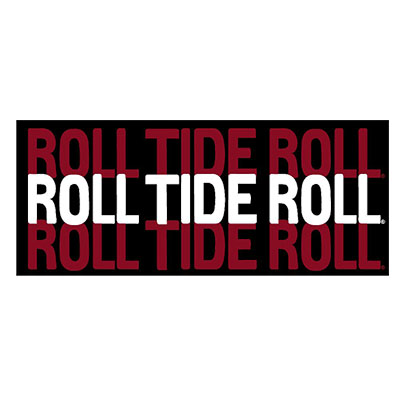 Roll Tide Roll Decal